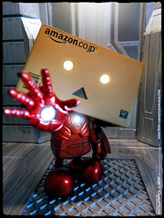 Iron Man : Danboard armor (EdwardLee's collection) Tags: man toy toys iron comic sony ironman collection yotsubato yotsuba tx7 revoltech jfigure danboard edwardlees