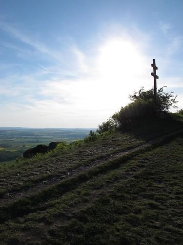 Wegkreuz, Berg der Franken in Staffelstein