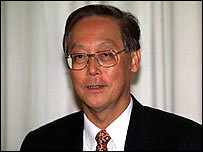 Goh Chok Tong (photo from BBC)