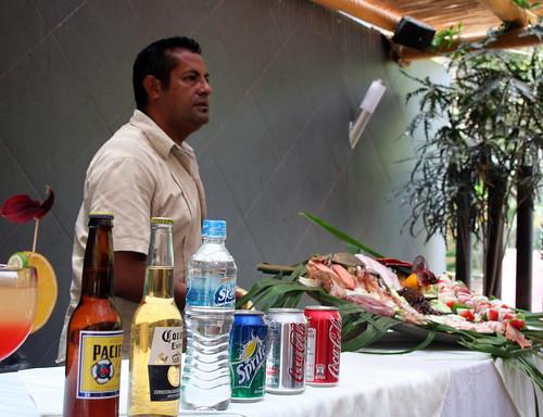 Puerto Vallarta - City and Tropical Jungle Escape Tour - El Nogalito - No Menus, Just $54 Seafood Platter, Fajitas, or $3 Soda (Or Booze)