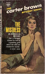 The Mistress (Covers etc) Tags: girl mystery design paperback crime cover bookcover signet carterbrown