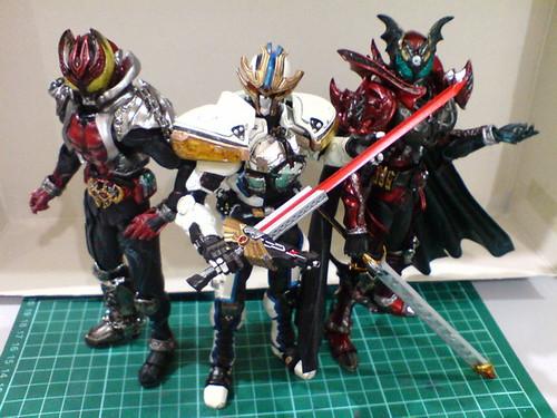 Kamen Rider Dark Kiva Sic Both Kamen Rider Ixa And Dark