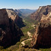 View from Observation Point, Zion National Park