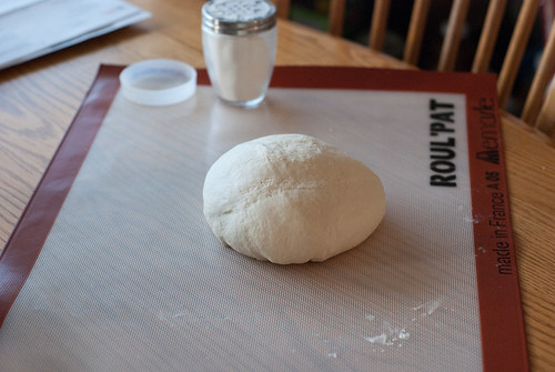 sourdough kneading