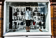 Tailor To The Stars (Sean Batten) Tags: uk london window shop martinscorsese johnwayne deanmartin jacknicholson orsonwells thomsweeney