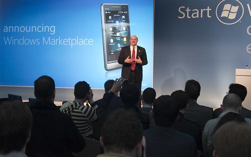 Steve Ballmer conferencia Microsoft MWC