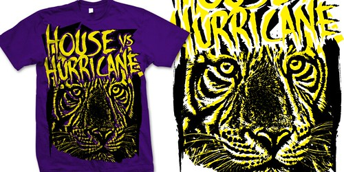 House vs Hurricane- White Tiger by invincibleclothing.