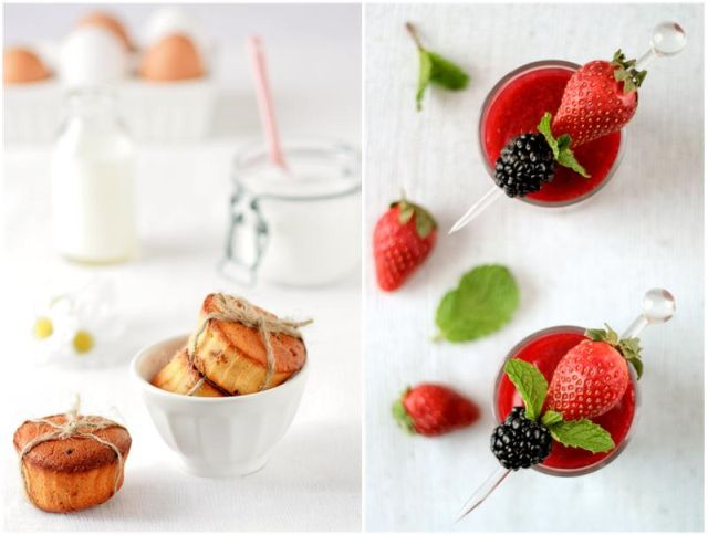 Teacakes and Strawberries