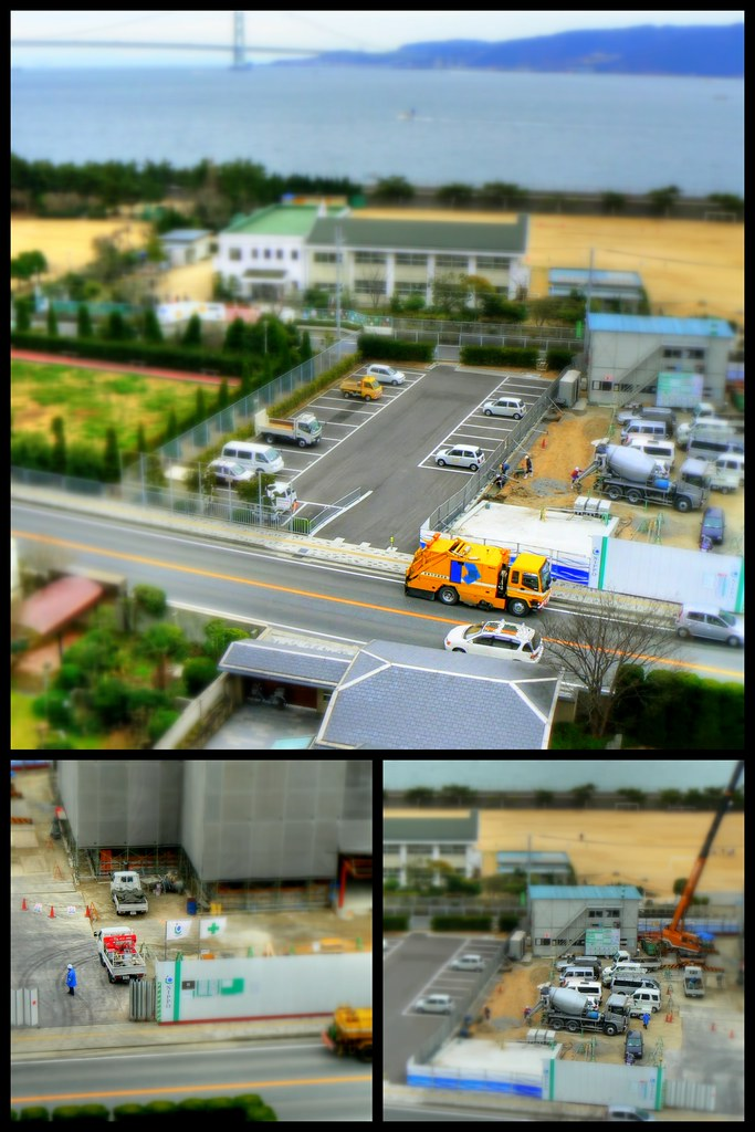 tilt-shift miniature-fake Akashi-2