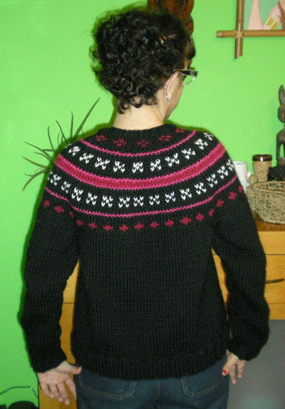 Fairly Easy Fair Isle cardigan