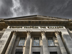 Dark clouds over the Bank! (ptg1975) Tags: old building ancient hellas bank greece macedonia national thessaloniki soe  kartpostal  anawesomeshot       theperfectphotographer   mallmixstaraward favoritesarchitecture