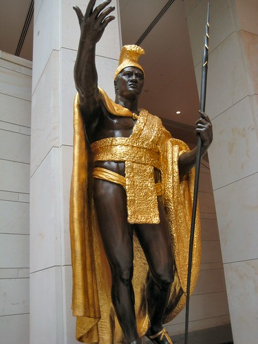 US Capitol King Kamehameha I Statue by mbell1975