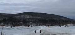 ice fishing - brattleboro, vt (glemak) Tags: ice fishing vermont icefishing