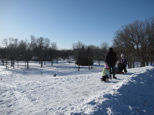 Theodore Wirth Sledding Hill at 26th