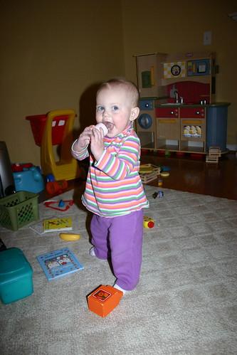 Maddie standing