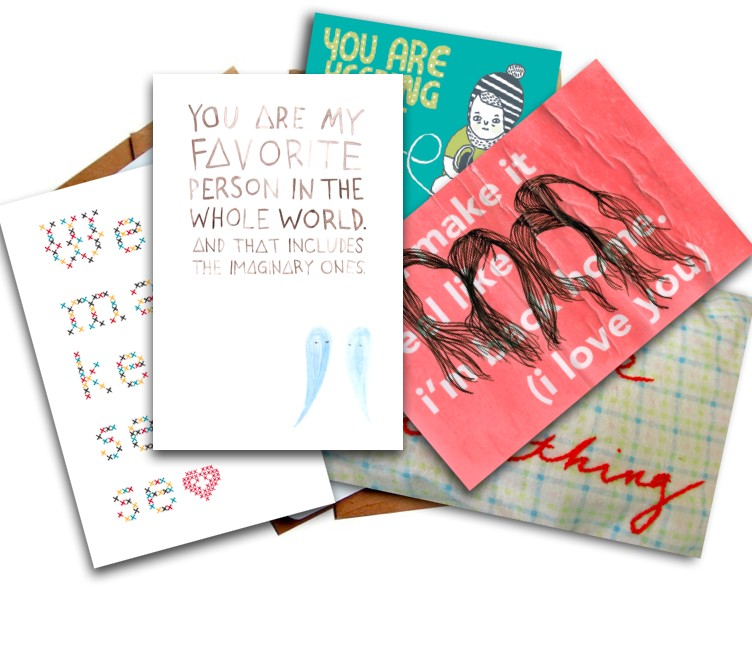 free encouragement postcard pack