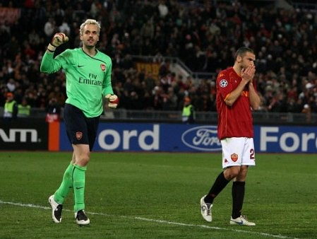 Report: Roma 1-0 Arsenal (1-1 agg, 6-7 pens)
