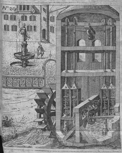 Heinrich Zeising - Theatri machinarum Erster - 1613 q