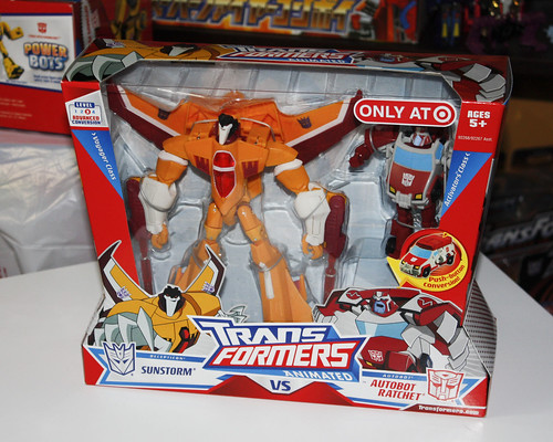 TF Animated Sunstorm (Target Exclusive)