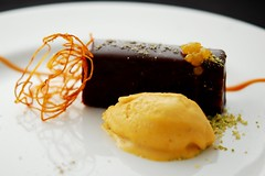 "Chocolate Cake - ""Le Bernardin"" Style (nicknamemiket) Tags: food chocolate foodporn icecream sweetpotato  deathbychocolate   frozentreats  cookingathome lebernardin michaellaiskonis"
