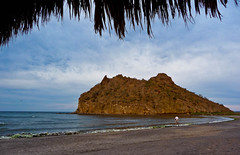 Beach - Inn at Loreto Bay (ex_magician) Tags: pictures beach landscape mexico lumix photo interesting image photos picture playa panasonic adobe palapa baja loreto seaofcortez lightroom moik adobelightroom innatloretobay tz5 dmctz5