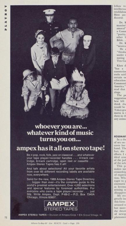Ampex ad