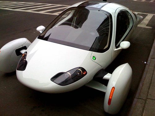 Aptera's Super-MPG Electric Typ-1 e Car