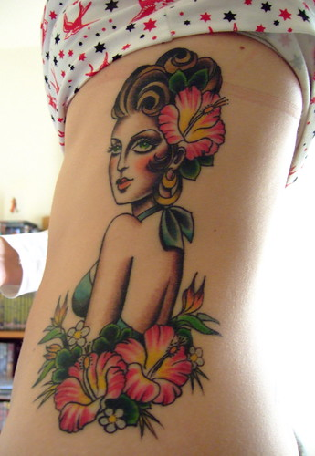 tattoos on ribs girls
