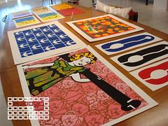 Serigrafias da Reviso da Gravura (Mariana Dap) Tags: athos cobog bulco