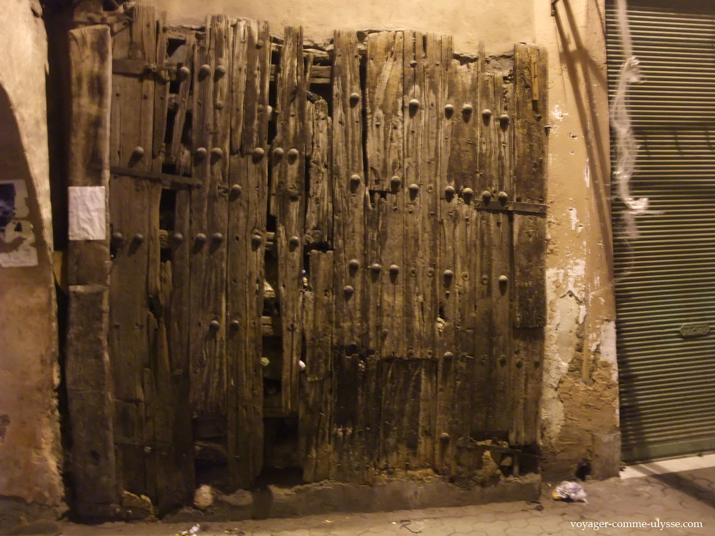 On se demande depuis combien de temps cette porte du souk existe...
