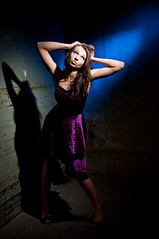(mrksaari) Tags: portrait fashion dark grid model elevator dramatic sb80dx d300 35mmf2d strobist silkki sigma500 honlphoto