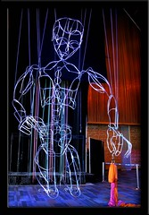Largest Marionette in the World - On his knees (AnnEcho) Tags: puppet marionette largest britishcolumbiacanada