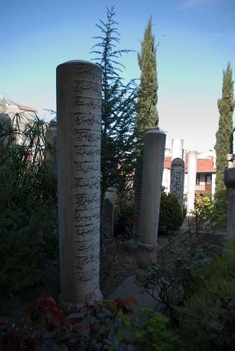 cemetery in Aziz Mahmud Hüdayi Mosque, Üsküdar, İstanbul, Pentax K10d