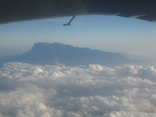 Mt Kinabalu - from plane to Latah Datu