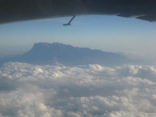 Mt Kinabalu - from plane to Latah Datu