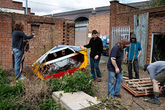 _MG_8443 (the rea garden) Tags: theedge rowingboat digbeth halfboat reamovingboat09 thereagarden
