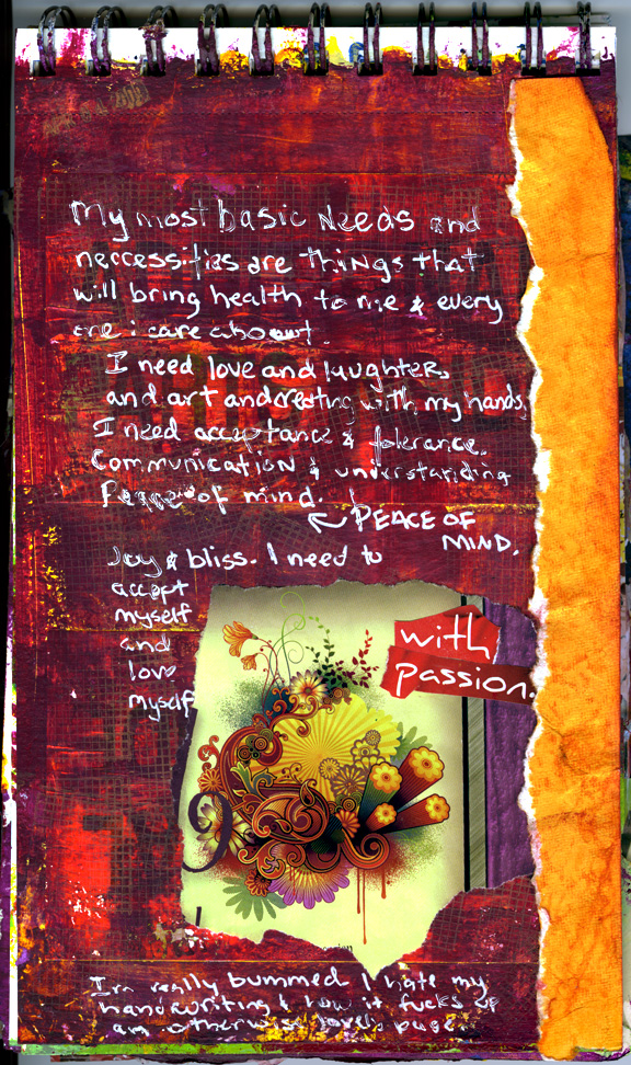 040609 - Art Journal Page