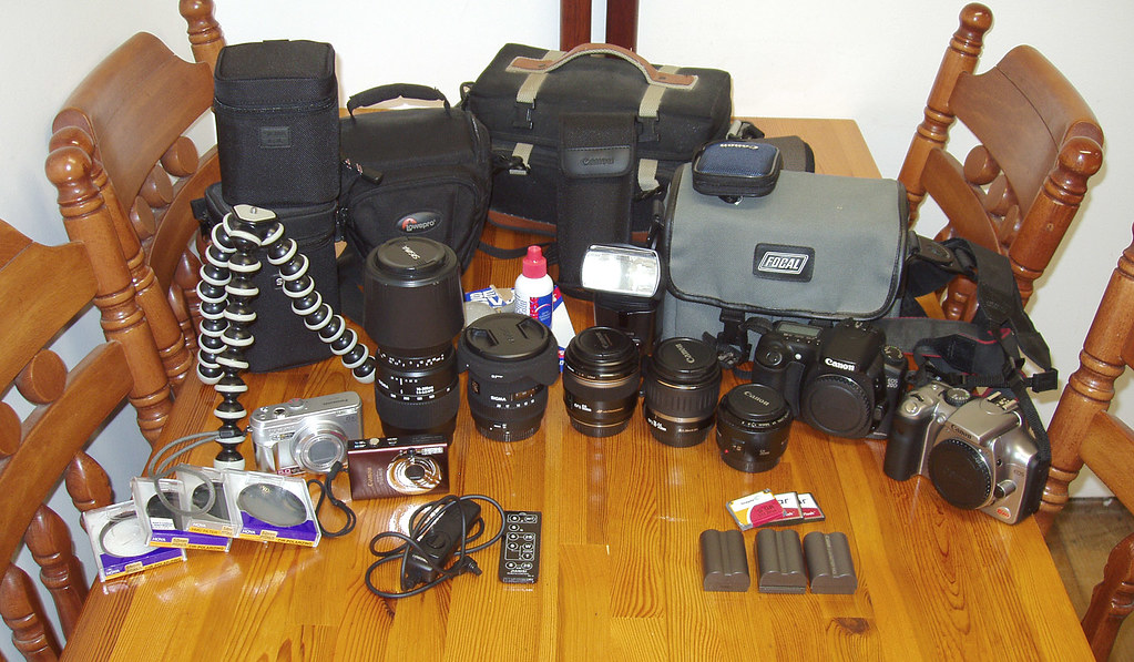 My camera stuff