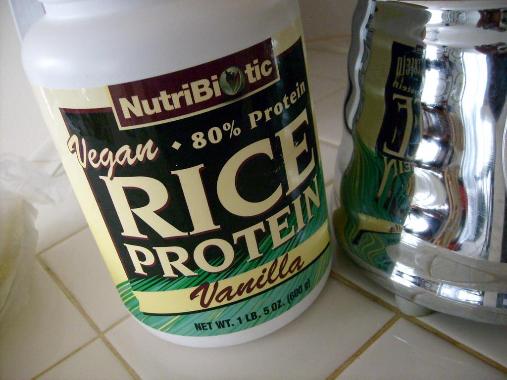 Vanilla Rice Protein