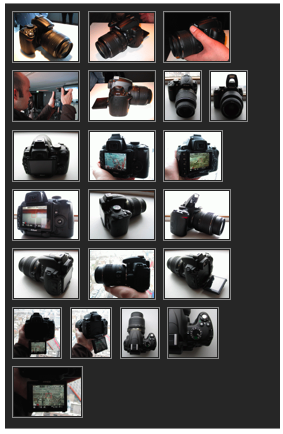 Gallery of 22 photos showing the Nikon D5000 from every conceivable angle at PhotographyBLOG