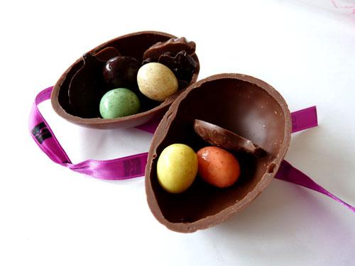 Treasure Filled Easter Egg