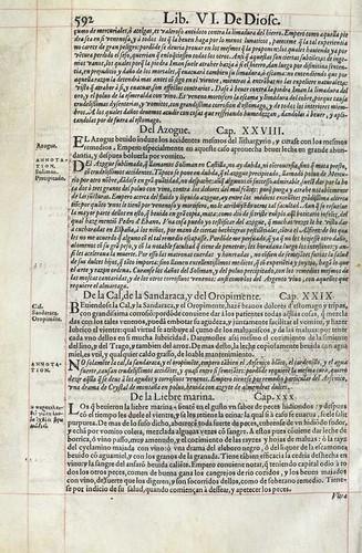 021- Ejemplo de tratamiento de algunos venenos-Pedacio Dioscorides Anazarbeo 1555