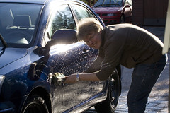 car glittering