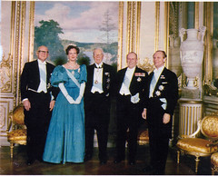 King Gustaf VI Adolf's 90th Birthday (royalist_today) Tags: norway denmark olaf king sweden queen kung gustaf monarchy margrethe knig drottning monarkin