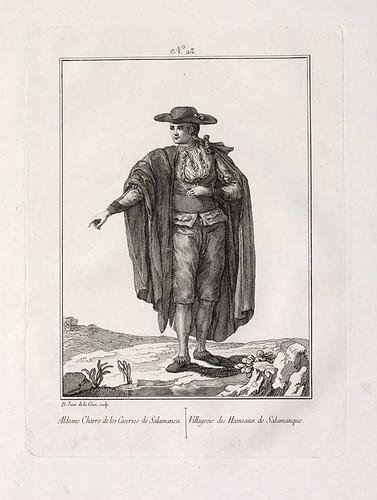 006-Aldeano charro de los caserios de Salamanca 1777-1788