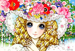Kawaii Japanese Shojo Manga Illustration Macoto (Kawaii Japan) Tags: pink anime flower cute art classic floral girl rose japan illustration print asian japanese dress drawing girly cartoon manga picture retro collection lolita kawaii animation ribbon illustrator makoto gothiclolita shojo animationart macoto shojomanga lolitafashion