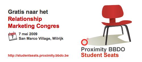 Student Seats by Proximity BBDO