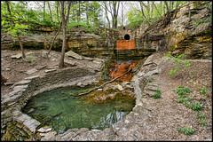 found falls (Dan Anderson.) Tags: park water minnesota st paul waterfall pond woods cities twin falls hidden waterfalls mn regional dananderson