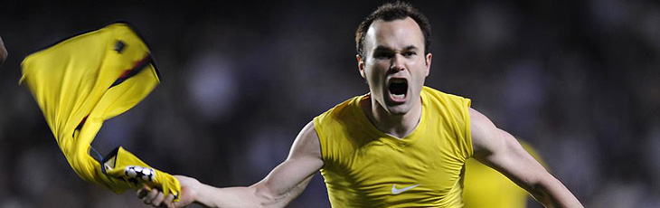 Gol de Iniesta al Chelsea