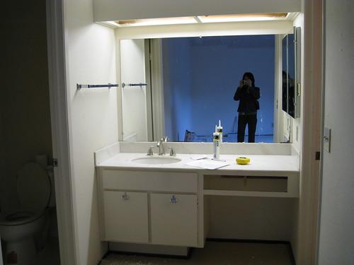 master bathroom (before)
